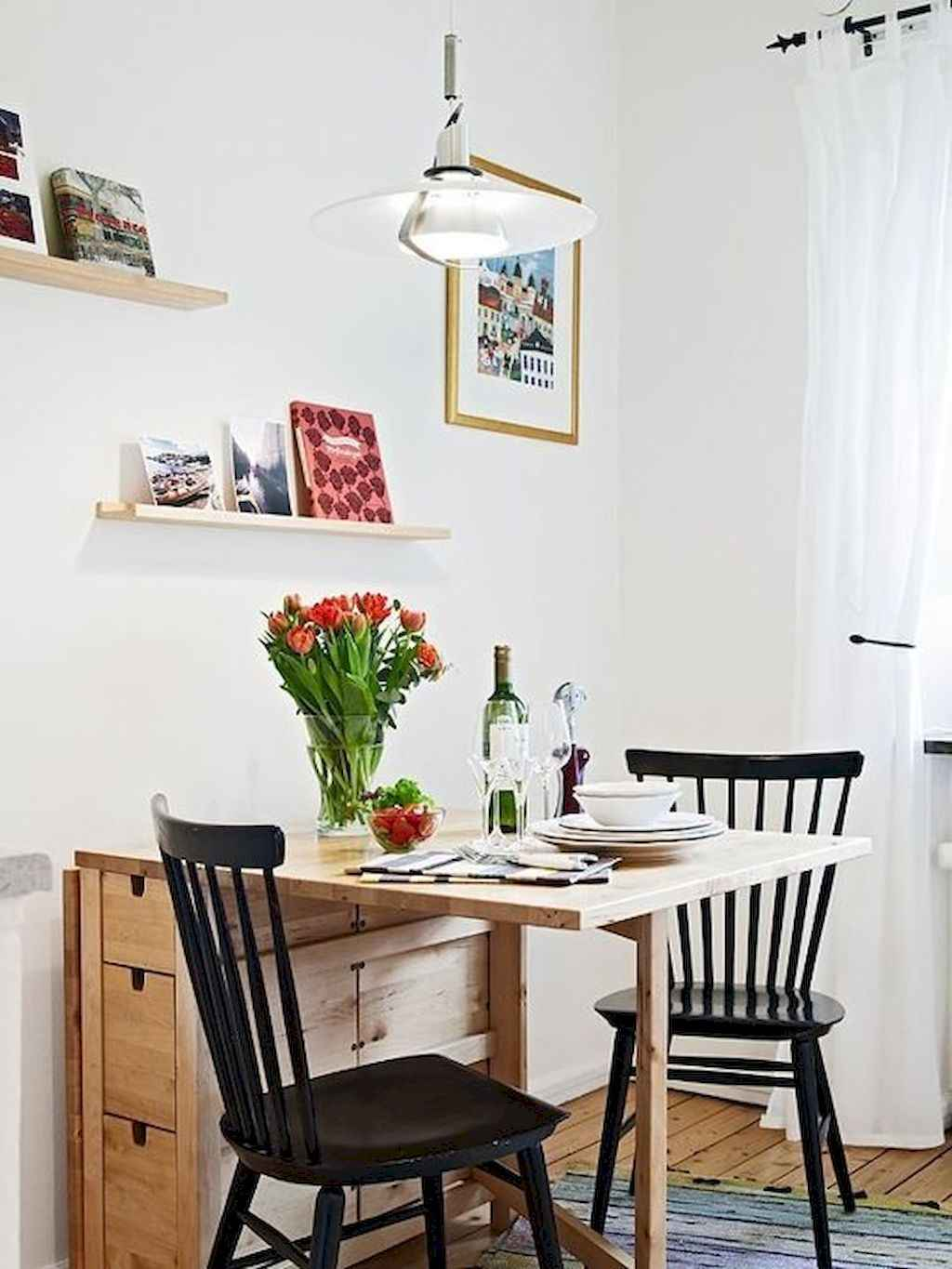 Small dining room table and chair ideas on a budget (9)