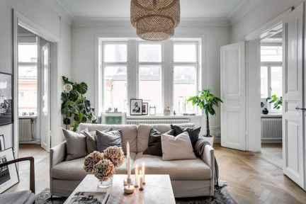 Stylish scandinavian style apartment decor ideas (23)
