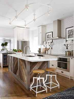 Stylish and inspired farmhouse kitchen island ideas and designs (13)