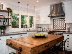 Stylish and inspired farmhouse kitchen island ideas and designs (30)