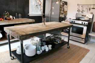 Stylish and inspired farmhouse kitchen island ideas and designs (36)