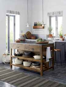 Stylish and inspired farmhouse kitchen island ideas and designs (61)