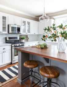 Stylish and inspired farmhouse kitchen island ideas and designs (62)