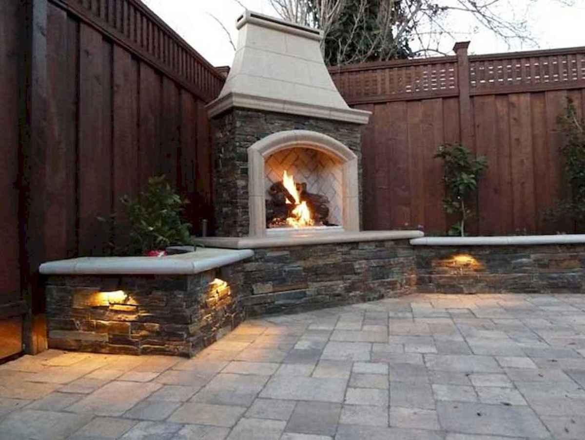 Wooden privacy fence patio & garden ideas (25)