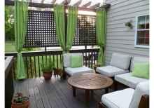 Wooden privacy fence patio & garden ideas (26)