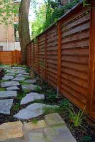 Wooden privacy fence patio & garden ideas (31)