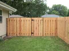 Wooden privacy fence patio & garden ideas (38)