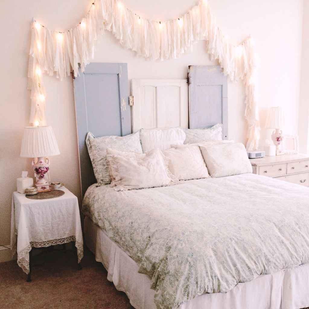 Adorable shabby chic bedroom decor ideas (1)