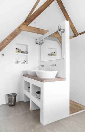 Attic bathroom makeover ideas on a budget (32)