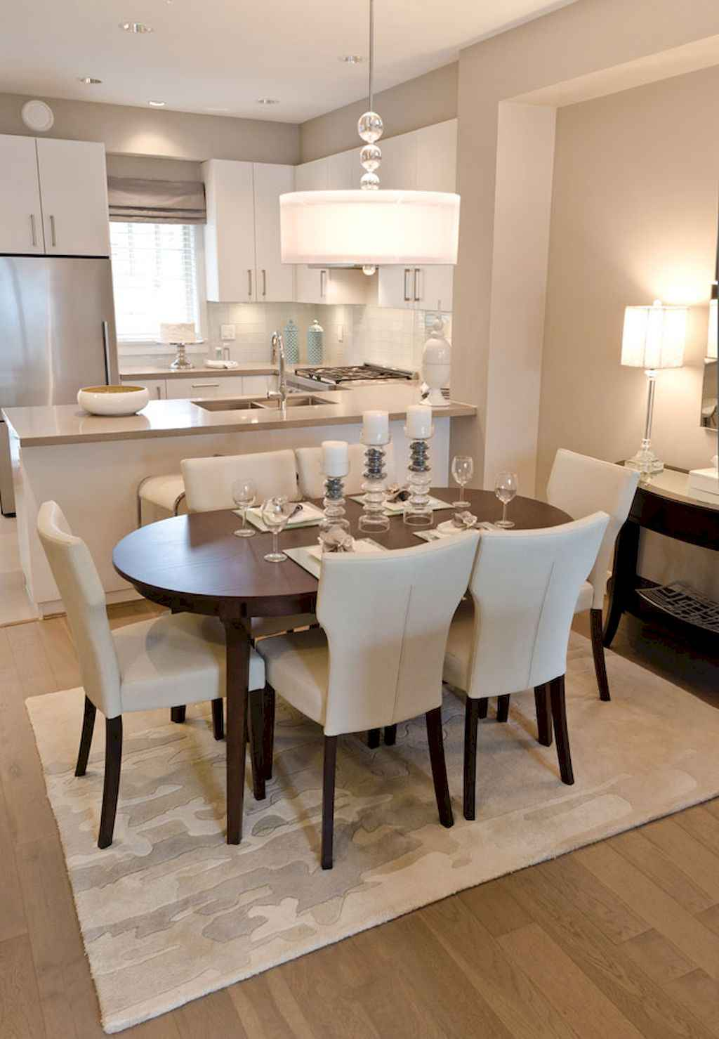 Clever small dining room ideas (22)