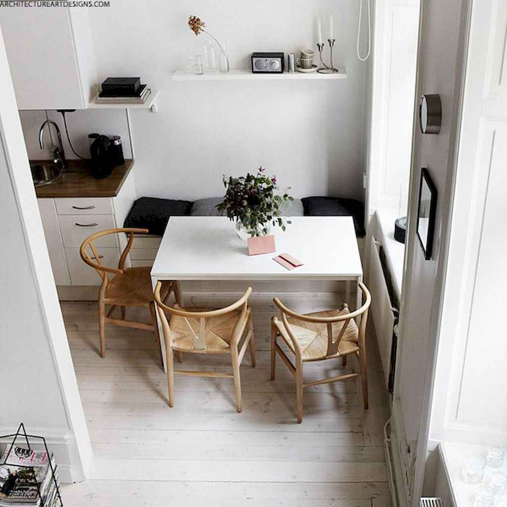 Clever small dining room ideas (30)