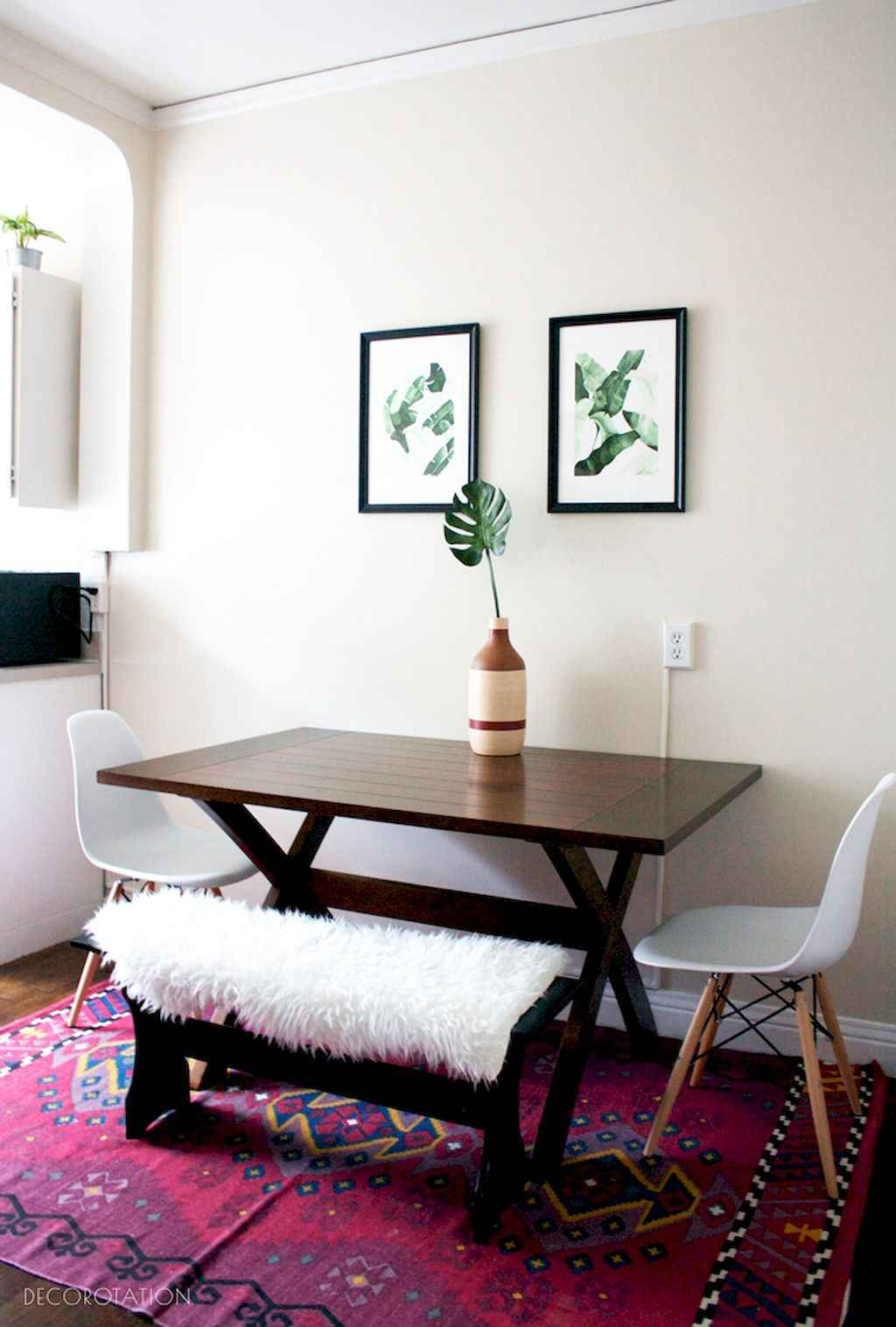 Clever small dining room ideas (49)