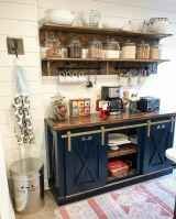 Clever small kitchen remodel and open shelves ideas (28)