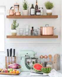 Clever small kitchen remodel and open shelves ideas (7)