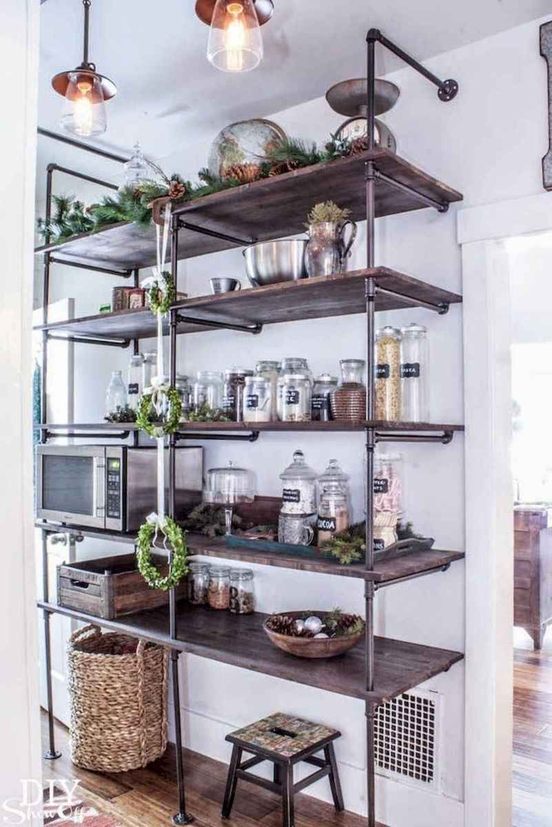 Clever small kitchen remodel and open shelves ideas (8)