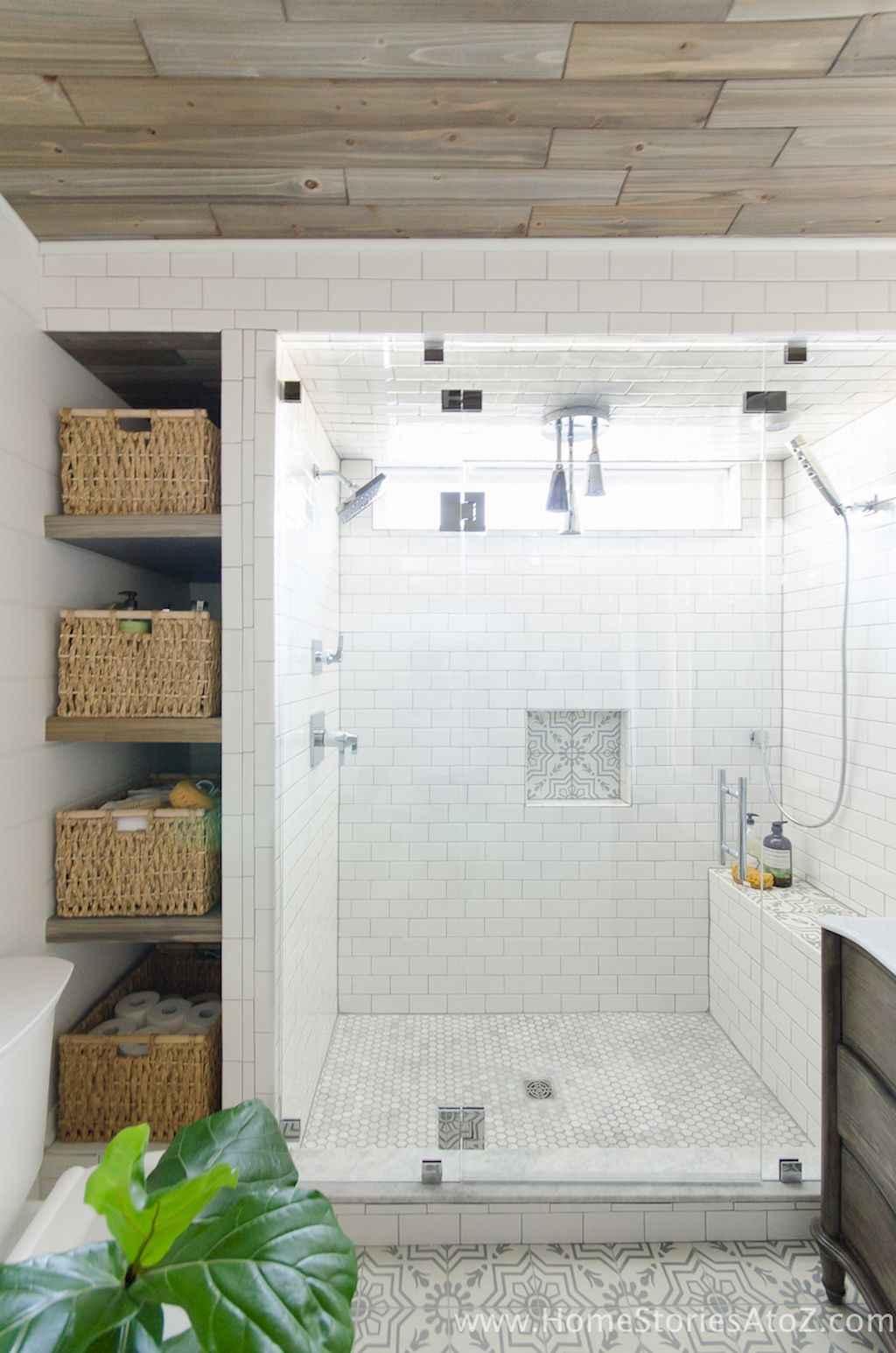 Cool bathroom storage shelves organization ideas (1)