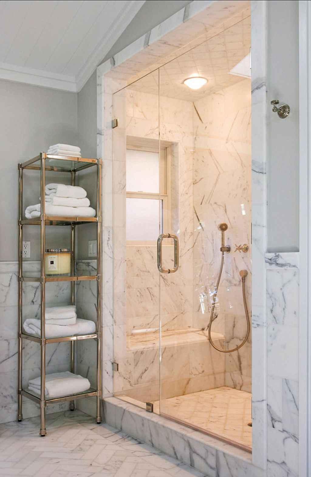 Cool bathroom storage shelves organization ideas (55)