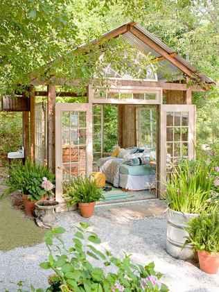 Cool diy backyard studio shed remodel design & decor ideas (13)