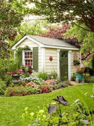 Cool diy backyard studio shed remodel design & decor ideas (14)