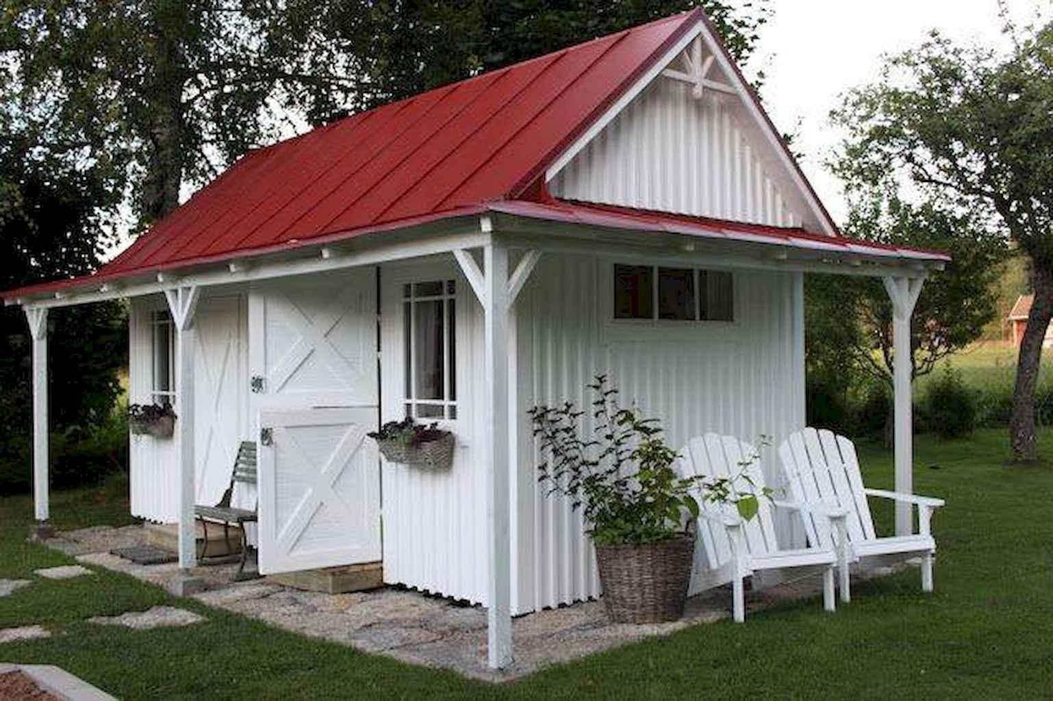 Cool diy backyard studio shed remodel design & decor ideas (2)