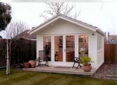 Cool diy backyard studio shed remodel design & decor ideas (28)
