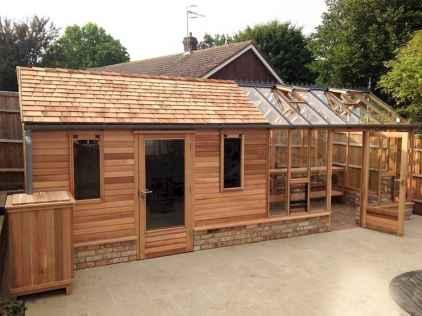 Cool diy backyard studio shed remodel design & decor ideas (40)