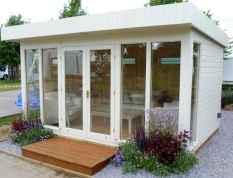 Cool diy backyard studio shed remodel design & decor ideas (44)