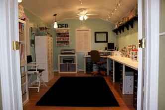 Cool diy backyard studio shed remodel design & decor ideas (46)