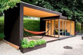 Cool diy backyard studio shed remodel design & decor ideas (47)