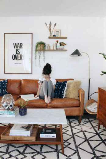Cool mid century living room decor ideas (25)