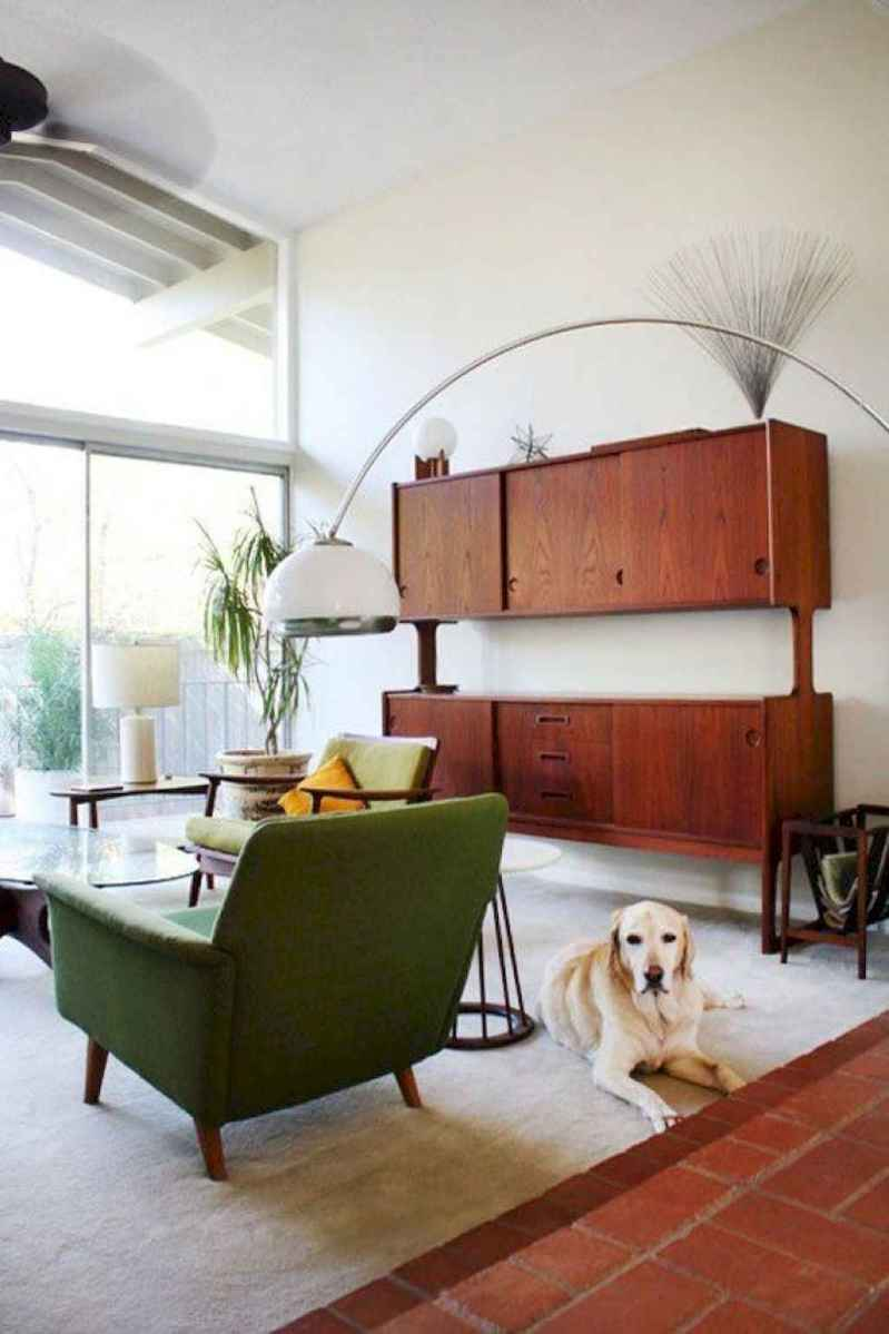 Cool mid century living room decor ideas (27)