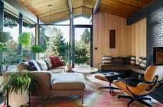 Cool mid century living room decor ideas (33)