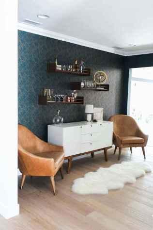 Cool mid century living room decor ideas (48)