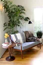 Cool mid century living room decor ideas (60)