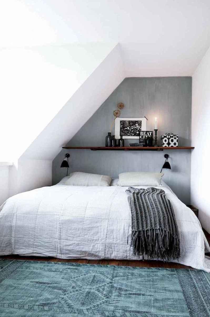 Cozy attic loft bedroom design & decor ideas (15)