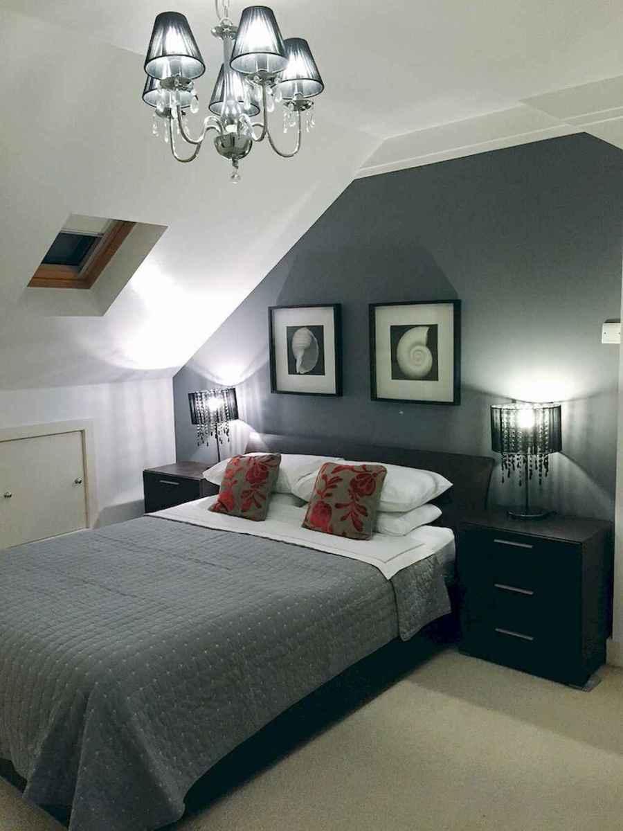 Cozy attic loft bedroom design & decor ideas (25)