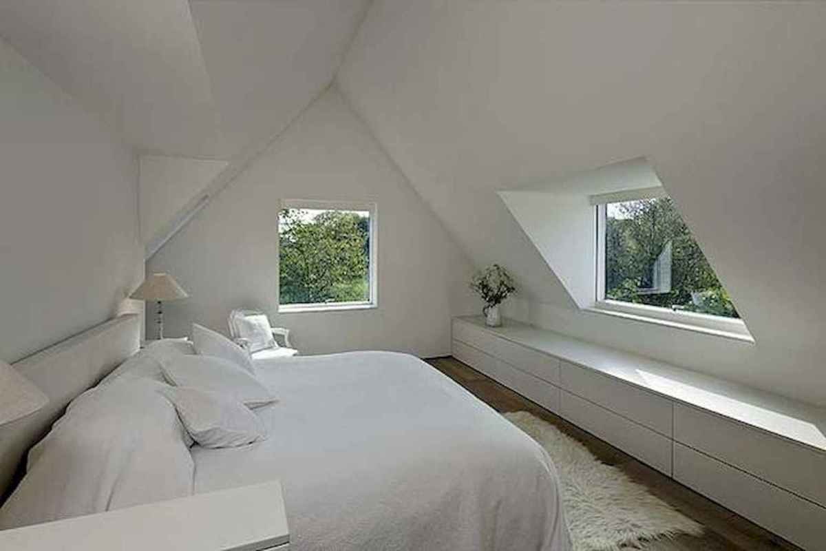 Cozy attic loft bedroom design & decor ideas (4)