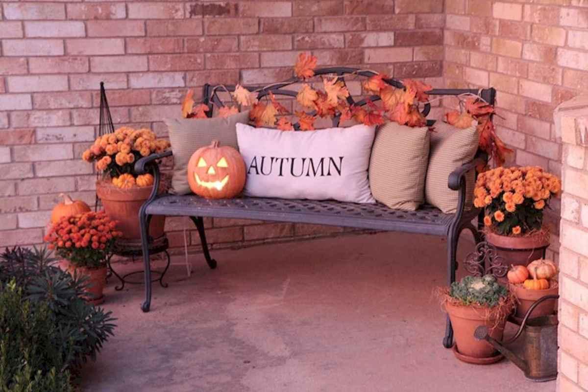 Creative diy fall porch decorating ideas (25)
