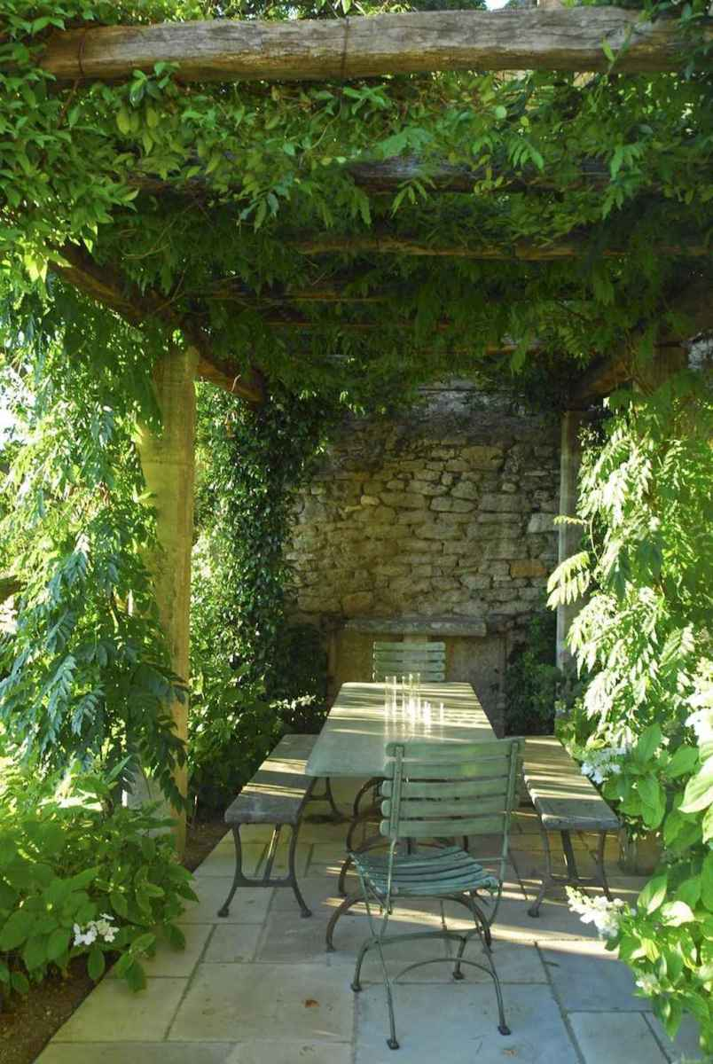 Diy shade canopy ideas for patio & backyard decoration (14)