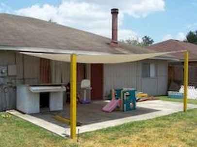 Diy shade canopy ideas for patio & backyard decoration (19)