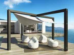 Diy shade canopy ideas for patio & backyard decoration (23)