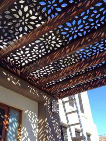Diy shade canopy ideas for patio & backyard decoration (24)