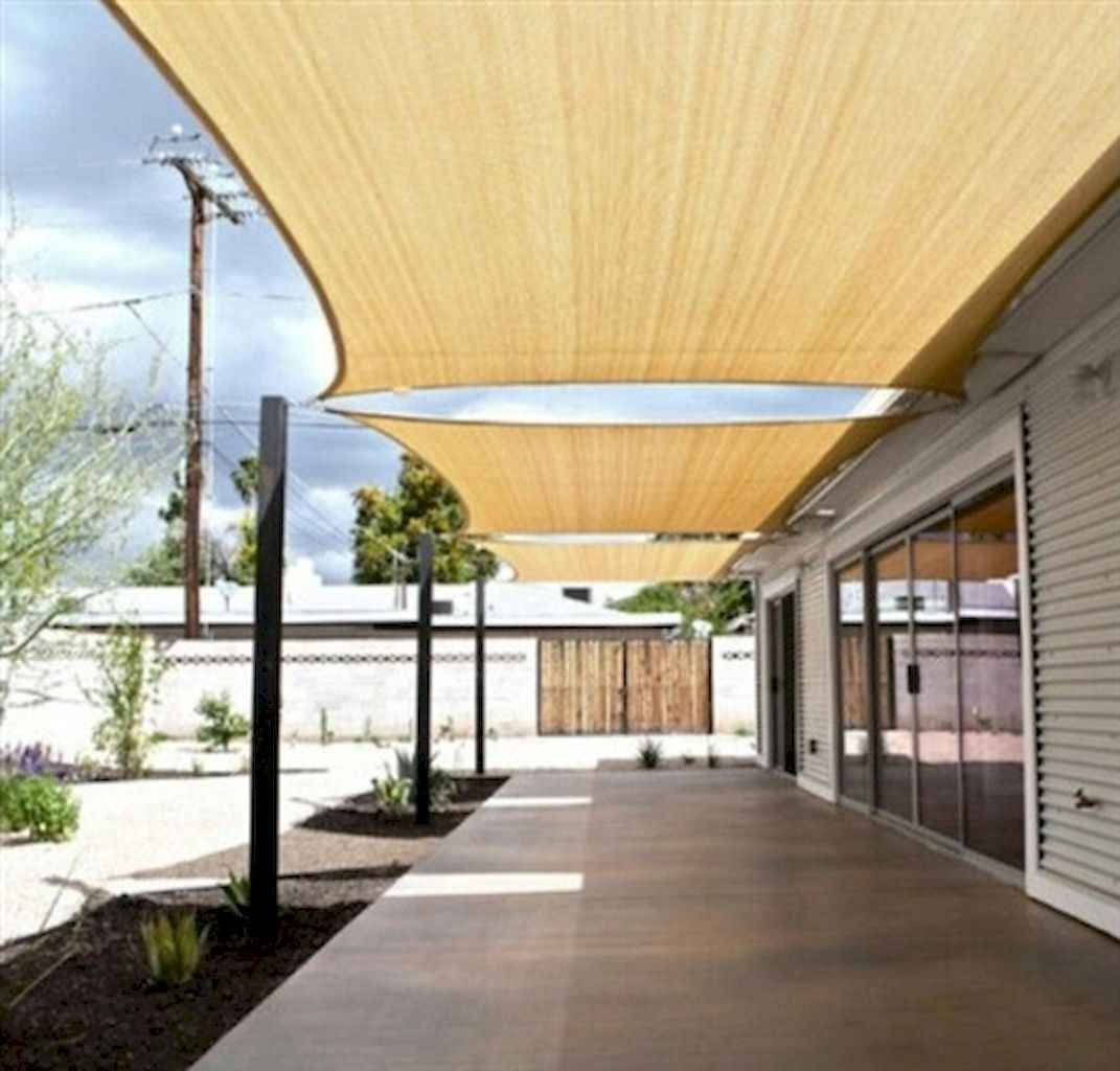 Diy shade canopy ideas for patio & backyard decoration (4)