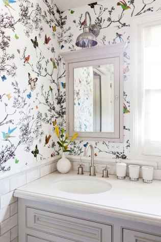 Fresh and cool powder room design & decoration ideas (13)