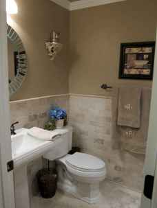 Fresh and cool powder room design & decoration ideas (19)