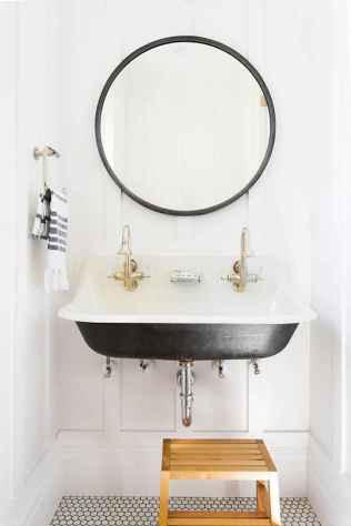 Fresh and cool powder room design & decoration ideas (26)