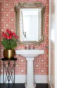 Fresh and cool powder room design & decoration ideas (32)