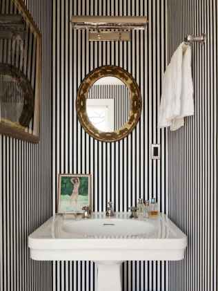 Fresh and cool powder room design & decoration ideas (38)
