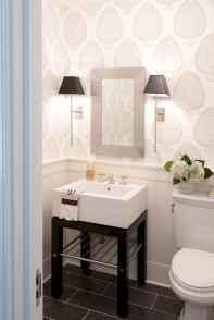 Fresh and cool powder room design & decoration ideas (44)