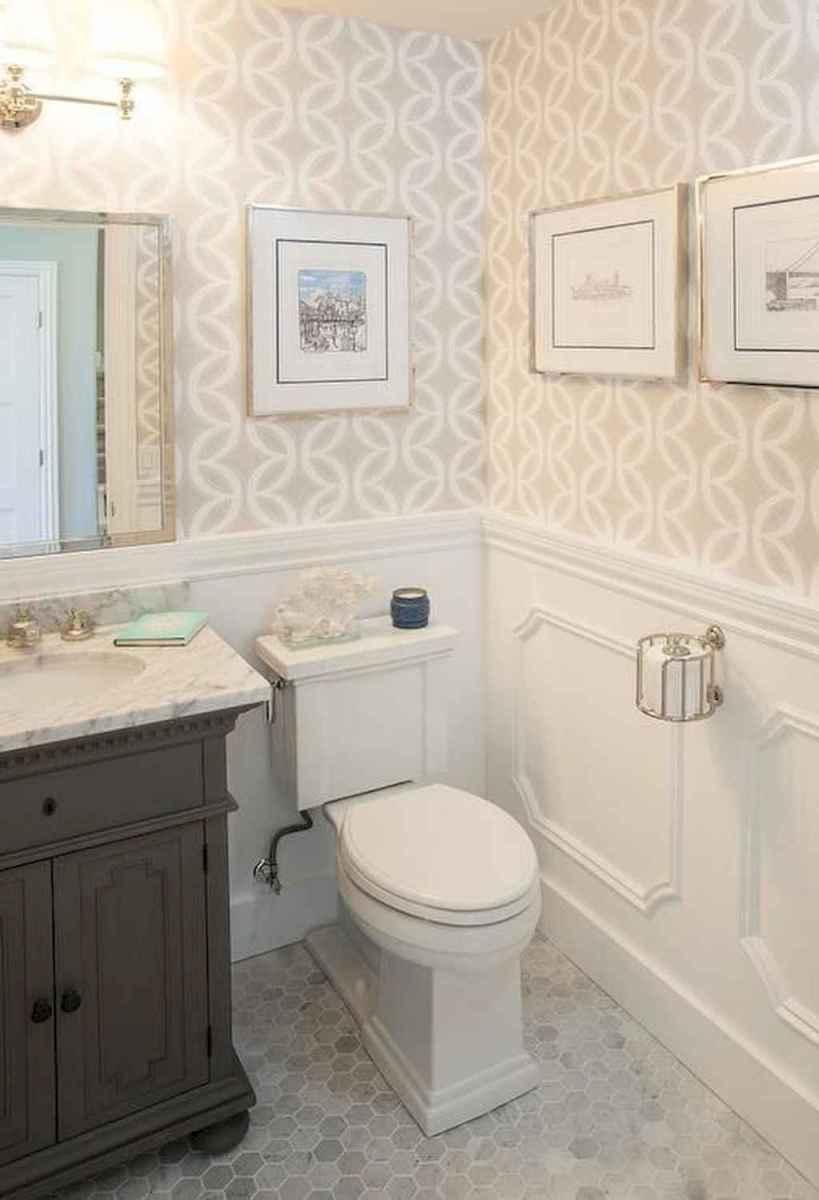 Fresh and cool powder room design & decoration ideas (49)